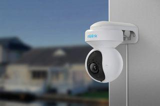 Reolink E1 Outdoor Dual Band WiFi-ga 5MP valvekaamera, PTZ, 3 X Zoom, isiku ja sõiduki tuvastusega