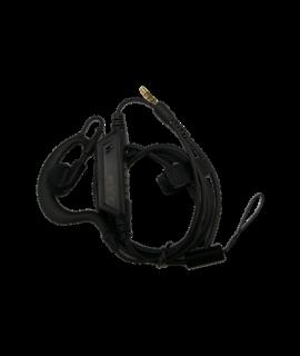 Hytera EHS24 peakomplekt kõrvatoega ja mikrofoniga