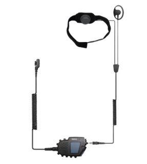 Hytera ELN10-Ex ATEX kõrimikrofoni komplekt koos PTT´ga