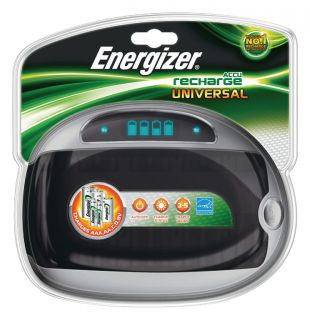 Energizer NiMH Battery Charger AA/AAA/C/D/E-Block