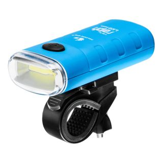 Front bike lamp, Falcon Eye RALPH,  150lm, 3W COB LED, battery operated (3x AAA), set (handlebar mount), blister