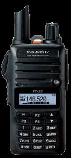 Yaesu FT-25E 2m Mono Band FM Handheld