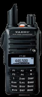 Yaesu FT-65E 2m/70cm Dual Band FM Handheld