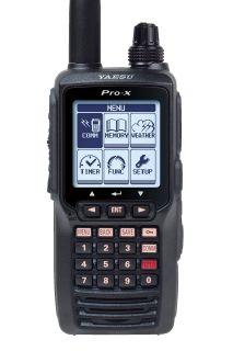 Yaesu FTA-550L Airband COM radio with VOR NAV