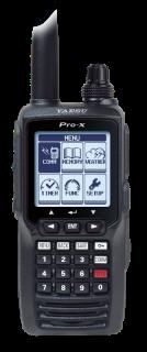 Yaesu FTA-550AA Airband Transceiver with AA Battery Tray