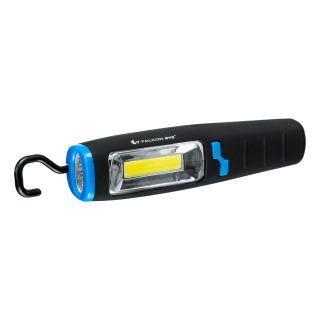 Flashlight, Falcon Eye COBRA, 120 lm, battery operated (3x AA), set (magnet, hook), blister