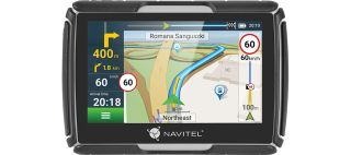 Navitel G550 MOTO motorcycle GPS, with Truck maps