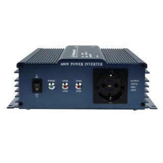 HQ-PURE600/24 siinusinverter 600W/24V