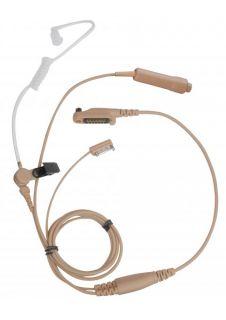 Hytera EAN21 3-juhtmeline akustilise toruga peakomplekt X1/PD6
