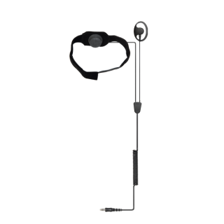 Hytera POA61-Ex ATEX Throat Microphone Headset