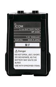 iCOM BP-245N battery 2000mAh 7.4V Li-Ion for M71/73