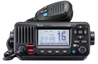 Icom IC-M423G VHF marine transceiver with Built-in GPS, IPX7, DSC class D