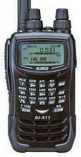 Alinco DJ-X11E skanner 0.05~1299.99995MHz, AM/FM/WFM/SSB/CW, 1800mAh aku LiIon, laadija, patareikarp