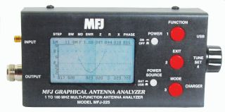 MFJ-225 Graphical Antenna Analyser 1-180MHz