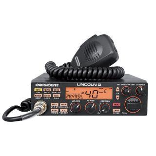President Lincoln II + HAM 10m/CB raadiosaatja AM/FM/SSB