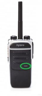 Hytera PD605 model label (small for front case)