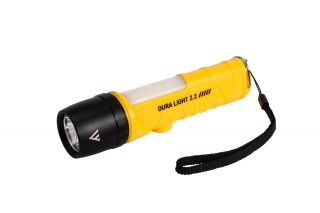 Mactronic Flashlight DURA LIGHT 2.2,  400lm + COB 170 lm white-red, battery operated (3x AA), set (hand strap), blister
