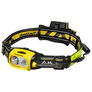 Mactronic PHL0011 Headlamp ULTIMO, 300lm, rechargeable, set (accumulator, 230V charger, extension cord, 4x helmet clips, 2x helmet mount, nylon bag), blister