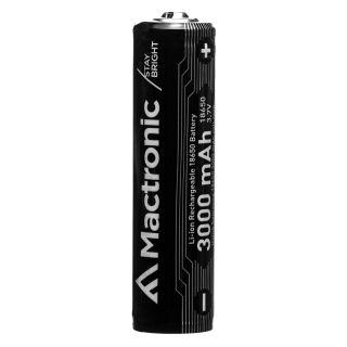 Mactronic 18650 3400mAh Li-Ion rechargeable battery