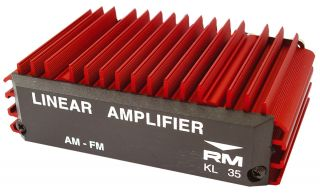 RM Italy KL35 amplifier 35-70W 25-30MHz