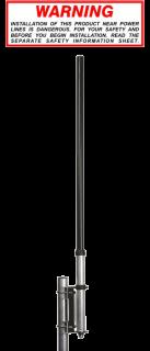 Sirio THUNDER 27 baasantenn 1/4 960mm