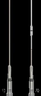 Sirio HP 140-175MHz PL antenna rod 5/8 1435mm