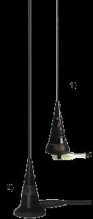 SKB 108-960 1/4 antennivarras