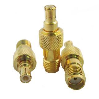 MCX-SMA plug-jack adaptor MCX-05-18-TGG