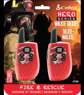 Cobra HM230 Red walkie-talkie, PAIR