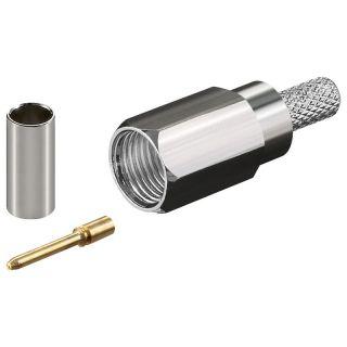 FME male crimp plug for RG58 FME-23-16-1-F-DGN