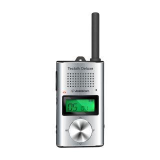 Albrecht Tectalk Deluxe käsiraadiosaatja PMR446, USB-C laadija