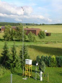 Aluminium Telescopic Mast 12,8m / 1,95m