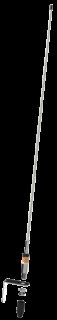 11033-211 VHF33 3dB VHF Fiiberklaas Antenn 0,95m (Antenn + Masti/Seina kinnitus)