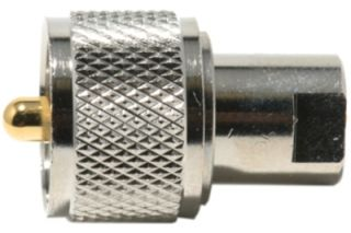UHF-FME male-male adapter