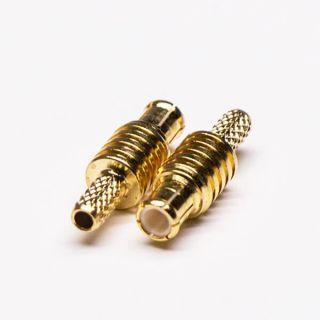 MCX male plug crimp-solder RG174/316
