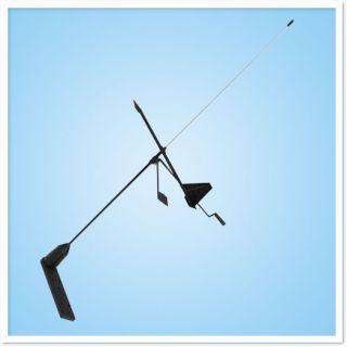 YHK Haw VHF paadiantenn koos Windex tuulesuuna näitajaga