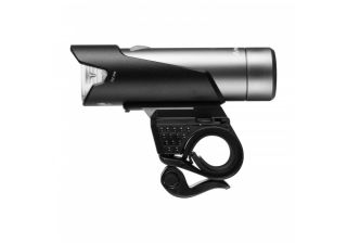 Front bike lamp, Mactronic NOISE XTR 04, 712 lm, rechargeable, set (18650 battery, USB cord, handlebar mount), box