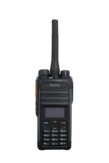 Hytera PD485G handheld transceiver GPS, BT, 350-470Mhz, Power 1 - 4 watts, DMR Tier II and analogue conventional mode