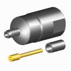 FME plug straight crimp for cable RG174