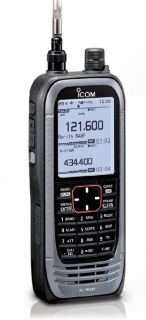 Icom IC-R30 handheld wideband allmode-scanner for analogue and digital modes