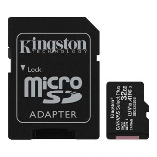 32GB MicroSDHC mälukaart Kingston Canvas Select Plus
