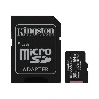 Kingston MicroSDXC Canvas Plus 64GB