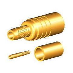 MMCX jack straight crimp for cable RG174/316