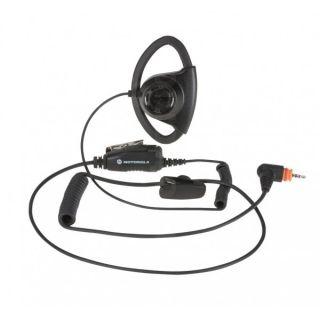 Motorola PMLN7159A D-kujuline peakomplekt mikrofoni ja PTT-ga