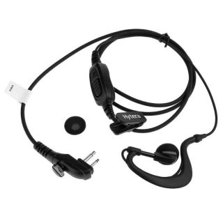 Hytera EHM18 mikrofon ja kõrvatoega kõrvaklapp