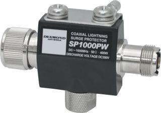 SP-1000PW Lightning protector UHF-UHF male-female Diamond