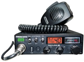 President Taylor IV ASC autoraadiosaatja AM/FM