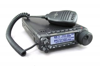 Yaesu FT-891 Compact HF allmode mobile transceiver with removable front panel, DSP, high sensitive triple conversion receiver, large display