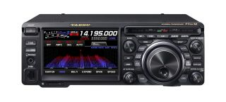 Yaesu FT-DX10 Compact HF/50MHz Transceiver with Yaesu Hybrid SDR technology, 100W transmit power, large Touch LCD screen